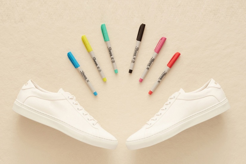 This Sneaker Comes With Sharpies For Instant Customization