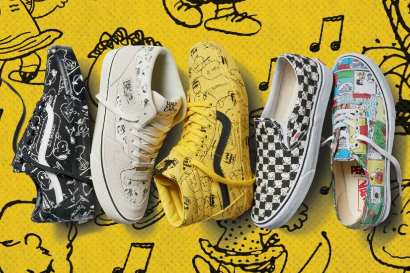 Vans and Peanuts Team Up for New Apparel and FootwearCollection