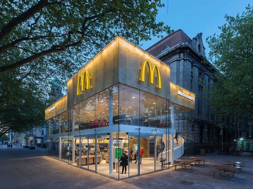 Fancy Modern McDonald's